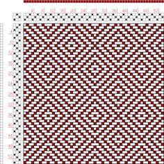 Hand Weaving Draft: Page 106, Figure 1, Bindungs-Lexikon für Schaftweberei, Franz Donat, 3S, 3T - Handweaving.net Hand Weaving and Draft Arc...