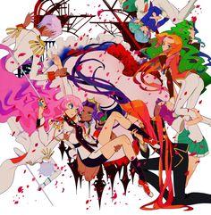 Tags: Anime, Revolutionary Girl Utena, Castle, Touga Kiryuu, Ohtori Akio, Himemiya Anthy, Juri Arisugawa