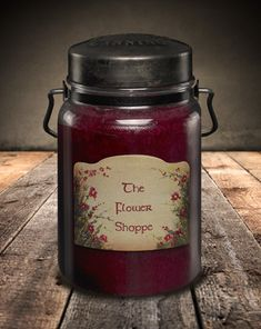 Classic Jar Candle-26oz-FLOWER SHOPPE-Scented Candles - McCall's Candles