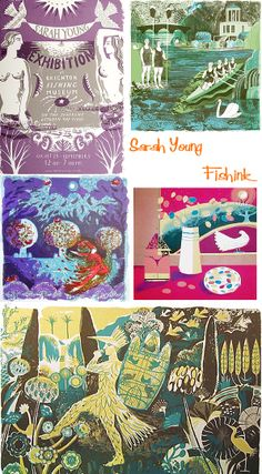 Fishinkblog 7696 Sarah Young 12 Check out my blog ramblings and arty chat here www.fishinkblog.w... and my stationery here www.fishink.co.uk , illustration here www.fishink.etsy.com and here carbonmade.com/.... Happy Pinning ! :)