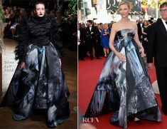 Cate Blanchett In Giles - 'Carol' Cannes Film Festival Premiere Cannes film festival 2015 #mode #fashion