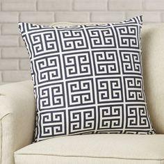 34 Brayden Studio Blevins Cotton Throw Pillow & Reviews | Wayfair