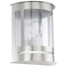 Eglo 30173Glass Outdoor Wall Light, E27, Clear *** Check out the image by visiting the link. (This is an affiliate link) #GardenDecor