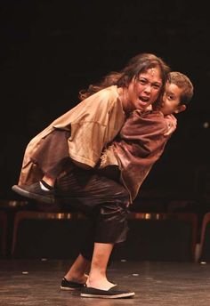"""""""I feel nothing in my hand, not even the feel of steel...you will not take my child!"""" ~ Miss Saigon"""