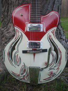 P1011924 | hitoneguitars | Flickr Guitar Kits, Music Guitar, Cool Guitar, Acoustic Guitar, Vintage Electric Guitars, Vintage Guitars, Unique Guitars, Custom Guitars, Ukulele