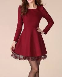 Resultado de imagen para moda coreana vestidos elegantes