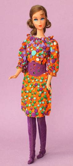 Talking Barbie in 70's Outfit (via: FashionDollCollector on Flickr)