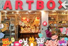 artbox - the whole store. want it. I'll take one of everything please! Kamsamnida!