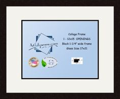 Art to Frames DoubleMultimat50375489FRBW26061 Collage Frame Photo Mat Double Mat with 1  12x155 Openings and Espresso frame ** To view further for this item, visit the image link. (This is an affiliate link and I receive a commission for the sales)