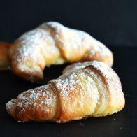 Croissants de massa brioche - SAPO Sabores