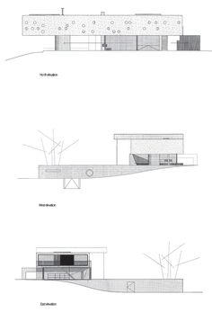 Arquitectura: MAISON BORDEAUX (CASA EN BURDEOS), REM KOOLHAAS 1994-1998 Rem Koolhaas, Architecture Drawings, Classical Architecture, Interior Design Sketches, Old Abandoned Houses, Famous Architects, Architectural Sketches, Architectural Photography, Modern House Plans