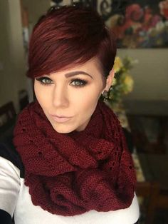 15 Red Pixie Hair | http://www.short-hairstyles.co/15-red-pixie-hair.html