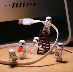"""""""Let us connect lads!"""" Photo and caption by  @minifigeek  #legophotography #sweet #comics #awesome #brickfilm #stopmotion #legostagram #awesome #legominifigs #brickfans #creative #legos #lego #bricks #art #bricknetwork #marvel #surfing #creation #funny #photography #minifigure #minifigures #starwars #stormtrooper #nerds #thelegomovie #legoland by bricknetwork"""
