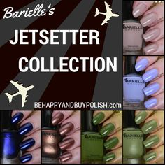 Barielle Jetsetter Collection | Be Happy And Buy Polish http://behappyandbuypolish.com/2014/11/14/barielle-jetsetter-collection-nail-art/
