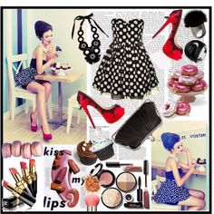 Rockabilly Look