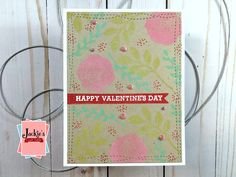 Hero Arts January Card Kit 2020 | Many Techniques & Cards – Jackie's Craft Table Valentine Day Cards, Happy Valentines Day, Distress Oxide Ink, Die Cut Cards, Heart Cards, Cards For Friends, Hero Arts, Card Kit, Sympathy Cards