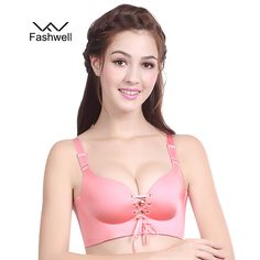 c5be1f6cccb61 Fashwell fashion style Sexy Ladies Bra solid sexy seamless underwear Ladies  Bras push up bralette plus size