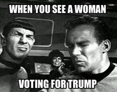 Trump does not think women should be trusted to make medical decisions about their own bodies.  Vote for him?  HELL NO!!
