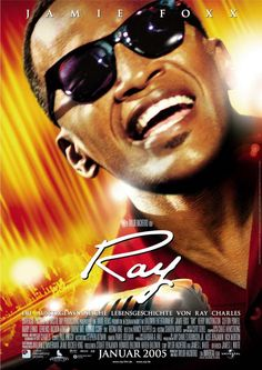Ray is a 2004 biographical film focusing on 30 years of the life of rhythm and blues musician Ray Charles. Ray Charles, Regina King, See Movie, Movie Tv, Movies Showing, Movies And Tv Shows, African American Movies, Ray Film, Blockbuster Movies