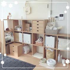 組み合わせ自由♡無印良品の「スタッキングシェルフ」で好きなだけ収納が増せます! - Yahoo! BEAUTY Muji Style, Aesthetic Rooms, Kpop Aesthetic, Workspace Inspiration, Kallax, Minimalist Bedroom, Classic Beauty, My Room, Home Office