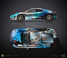Design consept #3 Ferrari F430 — would look better in chrome