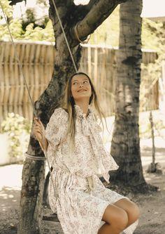 DRESSES – Island Tribe Vintage Inspired Dresses, Vintage Dresses, Bohemian Lace Dress, Shoulder Cut, Boho Festival, Fashion Labels, White Lace, Beautiful Dresses, Gowns