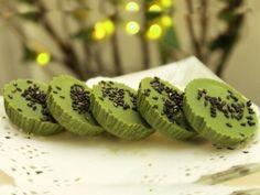 Matcha and Black Sesame Cups Recipe