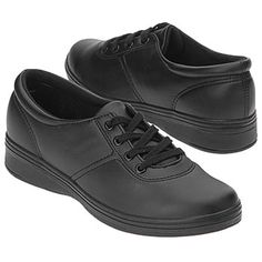 Grasshoppers Ashland Shoes (Black Smooth) - Women's Shoes - 8.0 W
