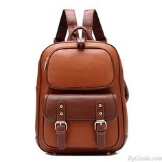 Retro British Style School Backpack only $29.9 in ByGoods.com