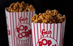 Old Fashioned Caramel Popcorn