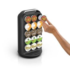 30 K Cups Holder Carousel Coffee Pod Storage Organizer Black Keurig Cup Rack #MindReader Kitchen Organization, Storage Organization, Keurig, K Cup Holders, Coffee Pod Storage, K Cups, Coffee Pods, Carousel, Popular