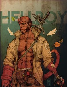 Hellboy by Devin Kraft