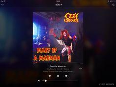 """Auf @Sonos läuft gerade """"Over the Mountain"""" von Ozzy Osbourne #NowPlaying"""