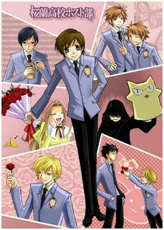 anime that never gets old- Ouran HighSchool Host Club I can't even count how many times I have watched this show! Ouran Highschool Host Club, Ouran Host Club, High School Host Club, I Love Anime, Awesome Anime, Skip Beat, Anime Shows, Vampire Knight, Beautiful Boys