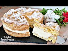 Tort Karpatka I Desert polonez I Cremos și delicios! 😍🍰 - YouTube Cake & Co, Eat Cake, Churros, Baking Recipes, Cake Recipes, Cake Factory, Italian Desserts, Polish Recipes, Coffee Cake