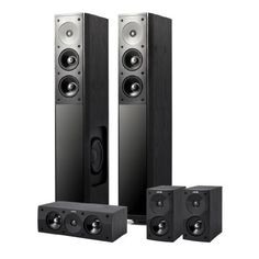 Jamo S 606 HCS 3 Home Theater System by Jamo. $999.00. With more than 810 watts of music power, the Jamo S 606 HCS 3 system offers excellent value for the money without compromises in design or sound. Give these speakers a listen and compare them to our competitors' products-we promise that You'll be surprised! Combine the base system's S 606 Towers, S 602 satellites and S 60 CEN with a Jamo subwoofer like the SUB 250 and you have a very potent, stylish combination with 1060 wat...