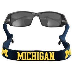 Michigan Wolverines Neoprene Sunglasses Strap Holder Croakie