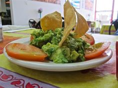 Only in Houston - Texaco station hides East End gem; this is the guacamole at Mercedes Mexican Food in Texaco's Canal Food Stop - from Alison Cook for the Chronicle