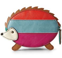 This coin purse perfection. | Community Post: 44 Amazingly Cute Products Every Hedgehog Lover Needs