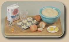 CDHM artisan Ann Fisher makes 1:12 scale foods for the dollhouse miniature collector