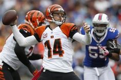 quarterback: andy dalton of the cincinnati bengals