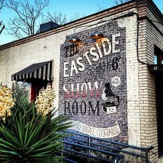 East Side Showroom's indoor seating is romantic and cozy while the outdoor patio is bright and inviting. Local 20's-style and swing bands take to the stage most nights, making the restaurant a lovely date spot on the East side.