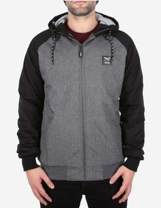 iriedaily - Another Flag Jacket black