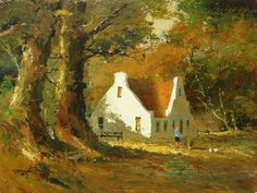 gabriel de jongh - Google Search South African Homes, South African Artists, Stone Painting, House Painting, Love Art, All Art, Abstract Landscape, Landscape Paintings, Simple Pictures