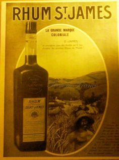 Vintage French Ad1933 St James Rhum by reveriefrance on Etsy, $20.00