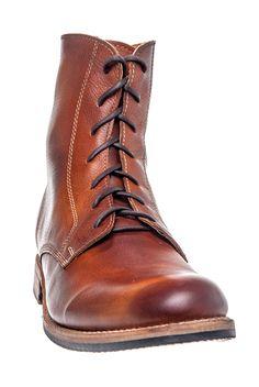 Bed:Stu - Men's Bolter Casual Flat Boot - Tan Glove at DNA Footwear