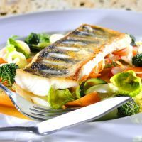 Tilapia and vegetables