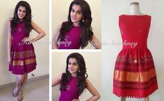 Top Indian fashion and lifestyle blog: Taapsee Pannu Times Live chat wearing dress by Mog...