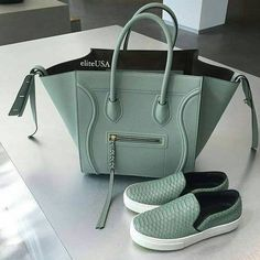 celine bag in amazing color- Celine tote bags…