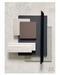 Mood Board Interior, Interior Design Boards, Interior Design Studio, Moodboard Interior Design, Colour Pallete, Colour Schemes, Material Board, Abstract Geometric Art, Mood And Tone